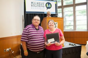 Kathryn Page Camp - Short Fiction & winner of the Top Prize L. Karl Largent Award